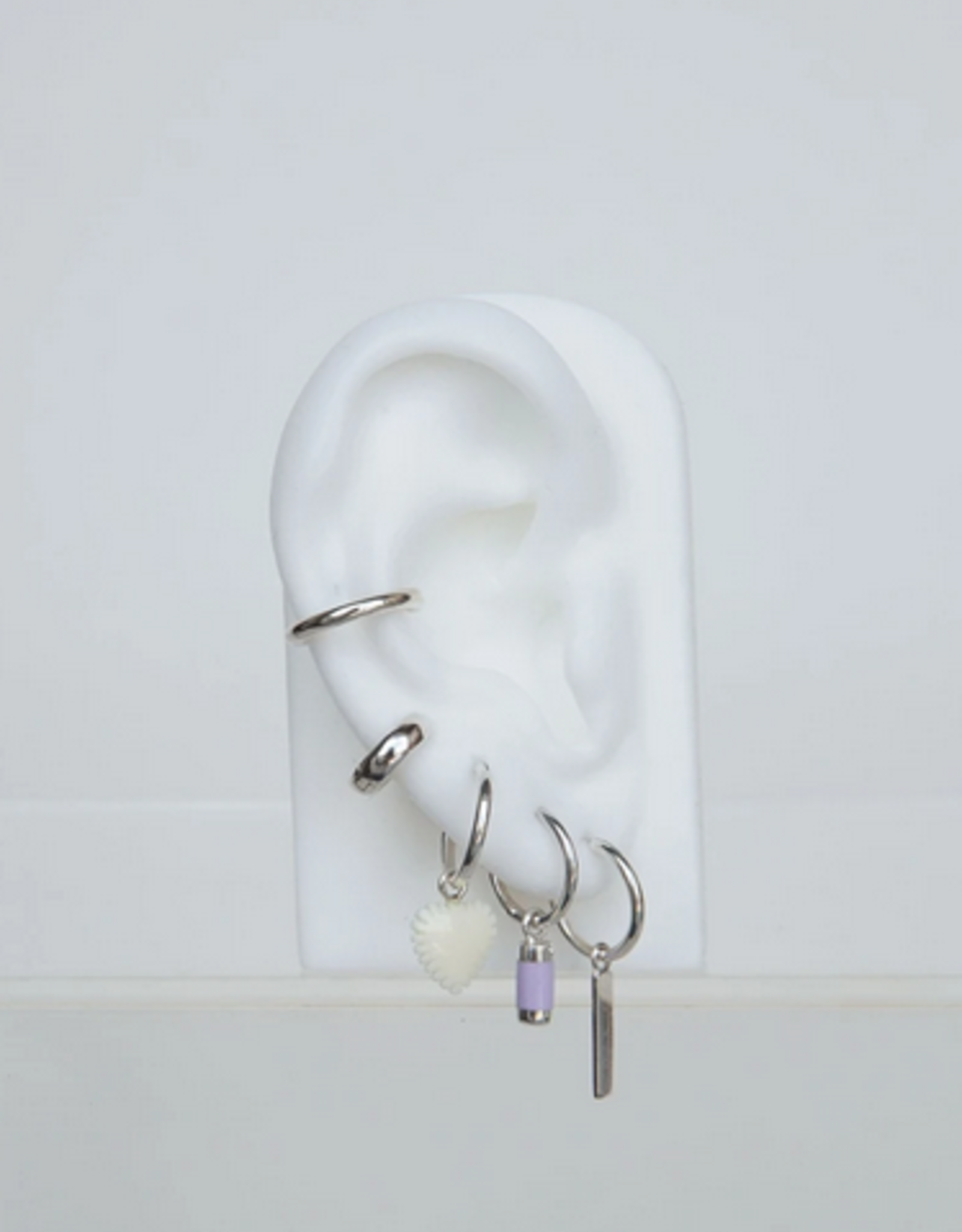Wildthings Collectables Lilac dream earring silver