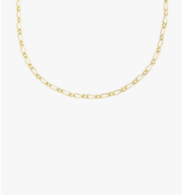Wildthings Collectables Chunky figaro necklace gold