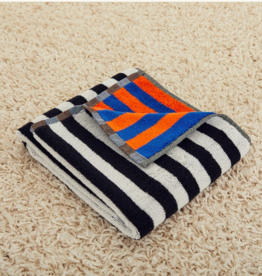 Dusen dusen Dusen dusen Hand towel Orange stripe