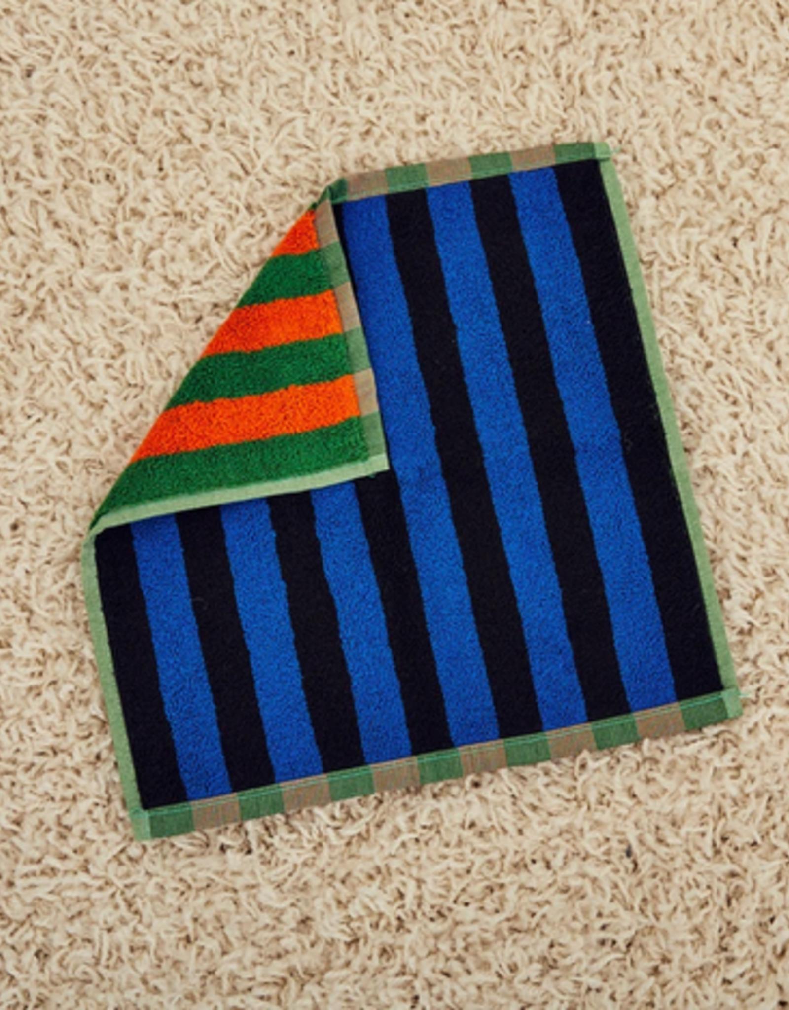 Dusen dusen Dusen Dusen Washcloth towel Green stripe