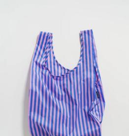 Baggu Reusable Bag Stripe Pink Blue
