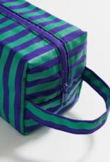 Baggu Dop Kit Stripe Cobalt Jade