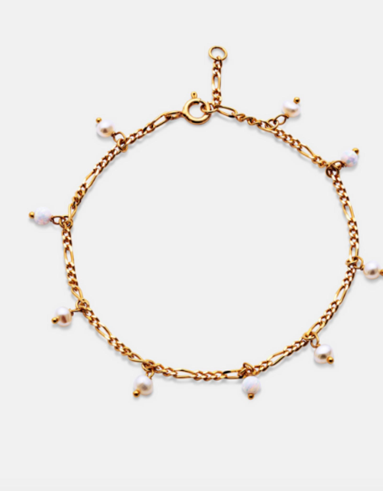 Maanesten  Lula white bracelet