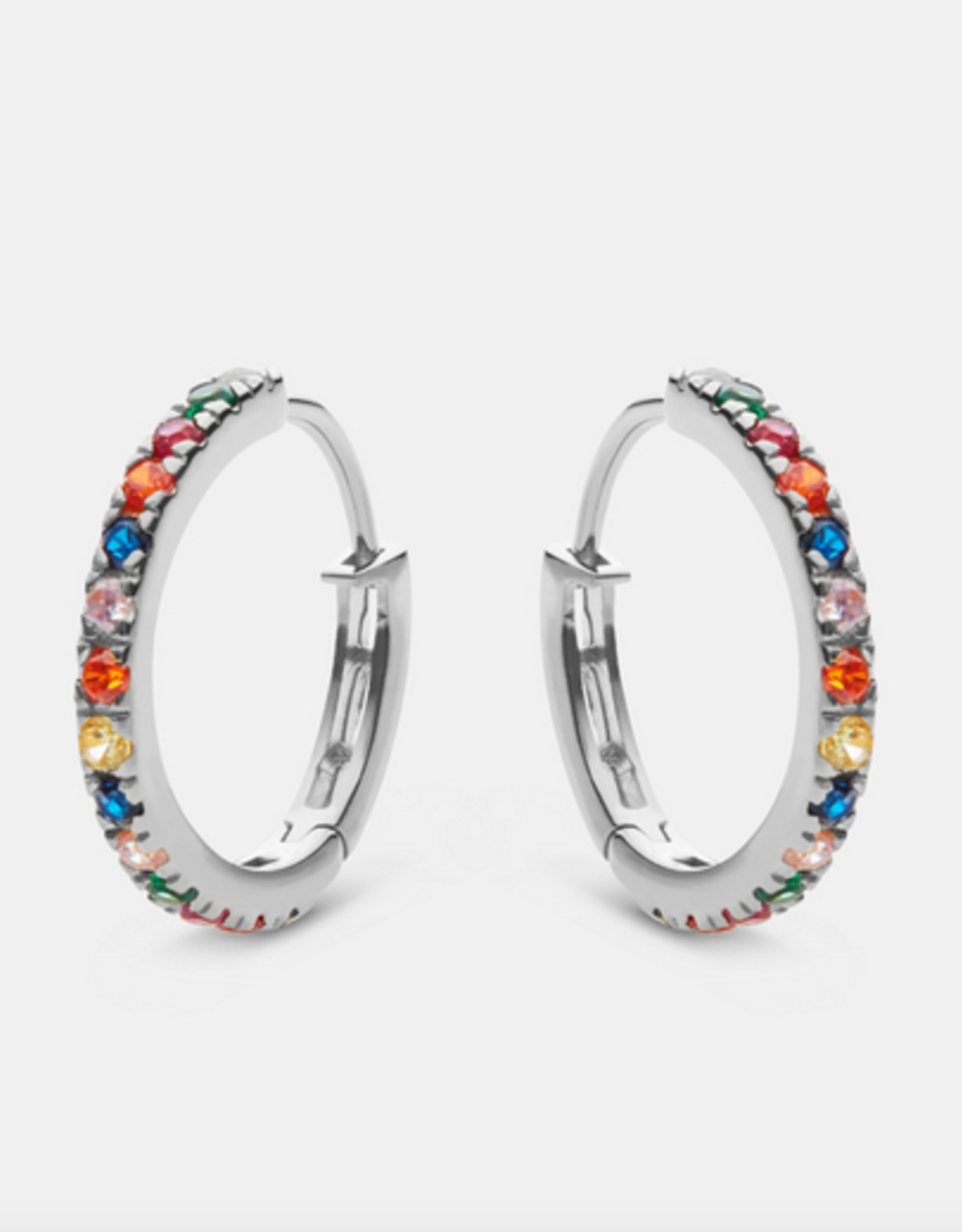Maanesten Nubia big color earrings silver