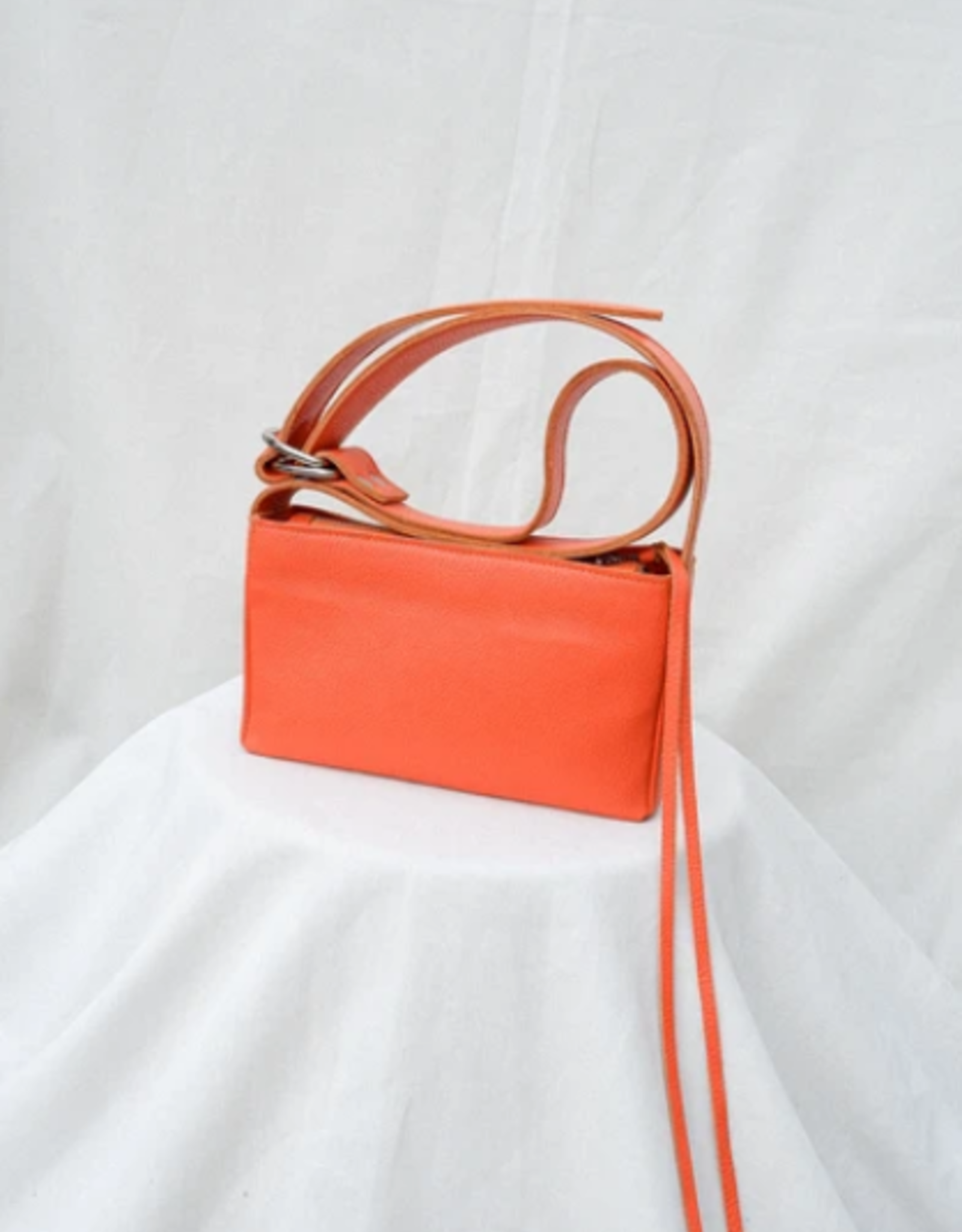 Nona Box bag tangerine