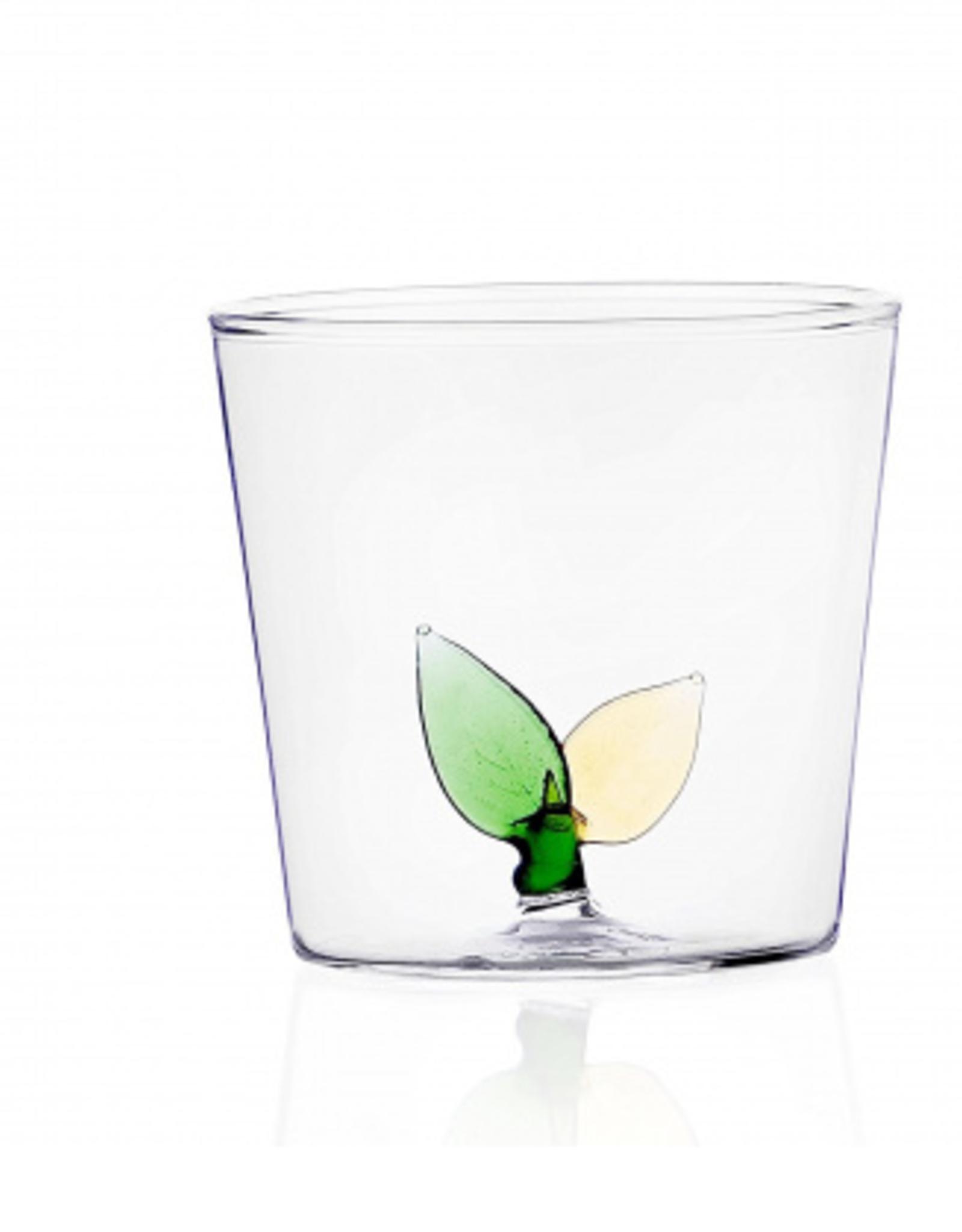 Ichendorf Tumbler leaves glass