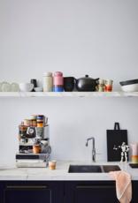 HK Living Ceramic 70's americano mugs set of 4