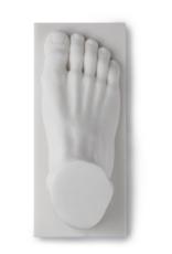 HK Living Polystone foot statue
