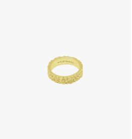 Wildthings Collectables Wild Flower ring gold M
