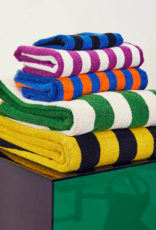 Dusen dusen Bath towel daisy stripe