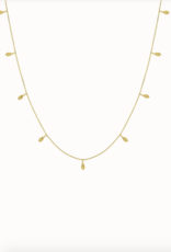 Flawed Flawed Petals Necklace Gold