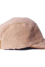 Cableami Boa fleece cap beige M