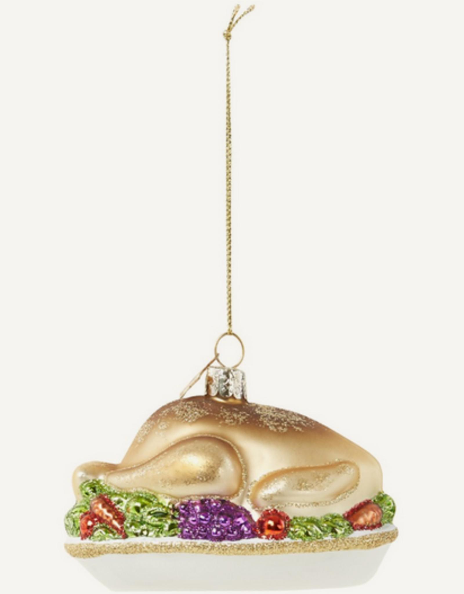 Vondels Turkey christmas ornament