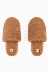 Toasties Hotel slippers camel large