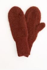 Karakoram Knitted gloves brown