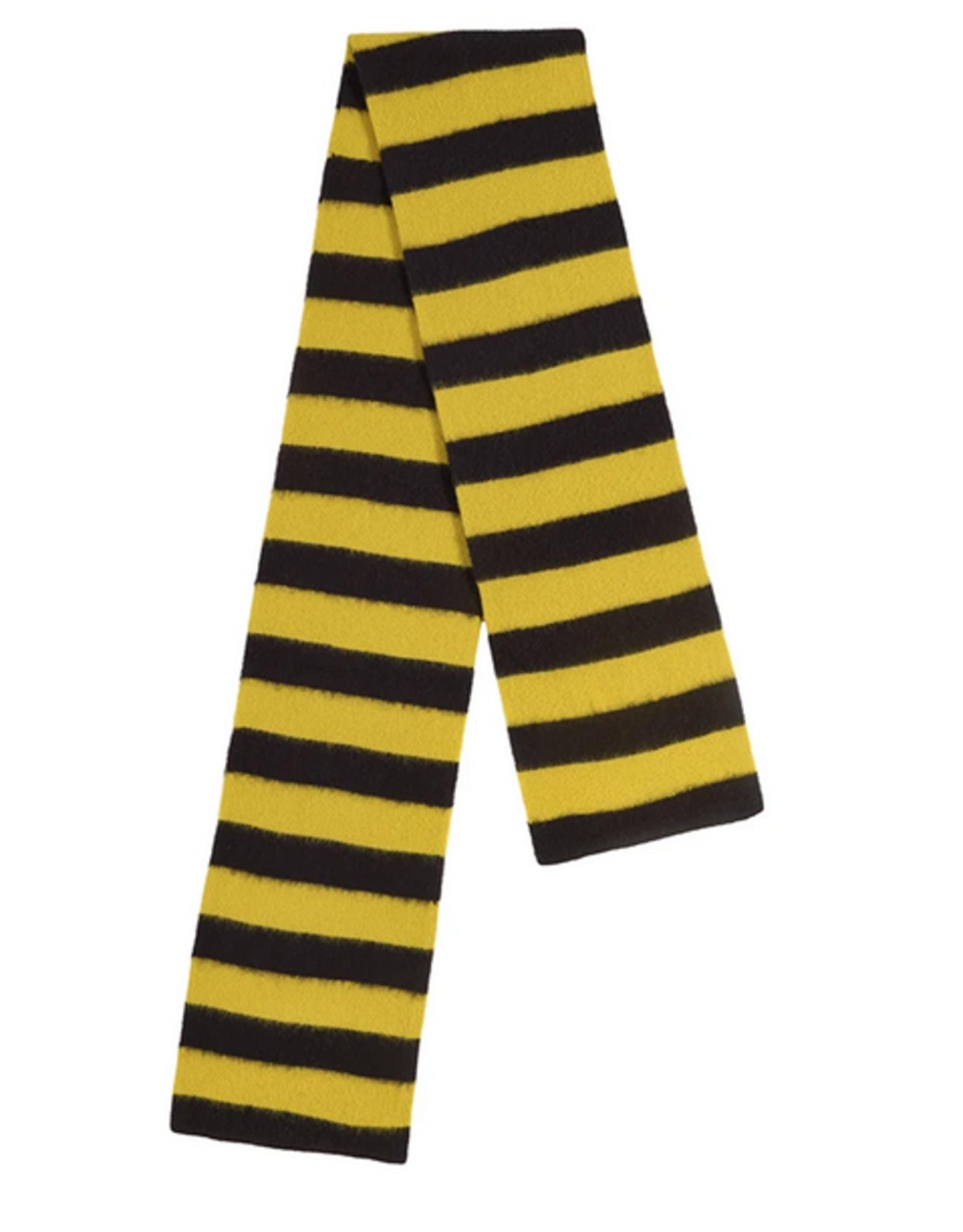 Jo Gordon Scarf Wide Stripe black yellow