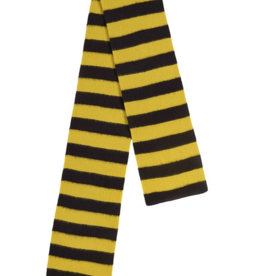 Jo Gordon Scarf Wide Stripe black yellow