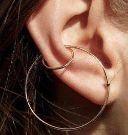 Sansoeurs Sansoeurs Earring Double Bangle Yellow Gold