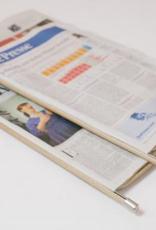 Wiener Newspaper holder natural 50cm