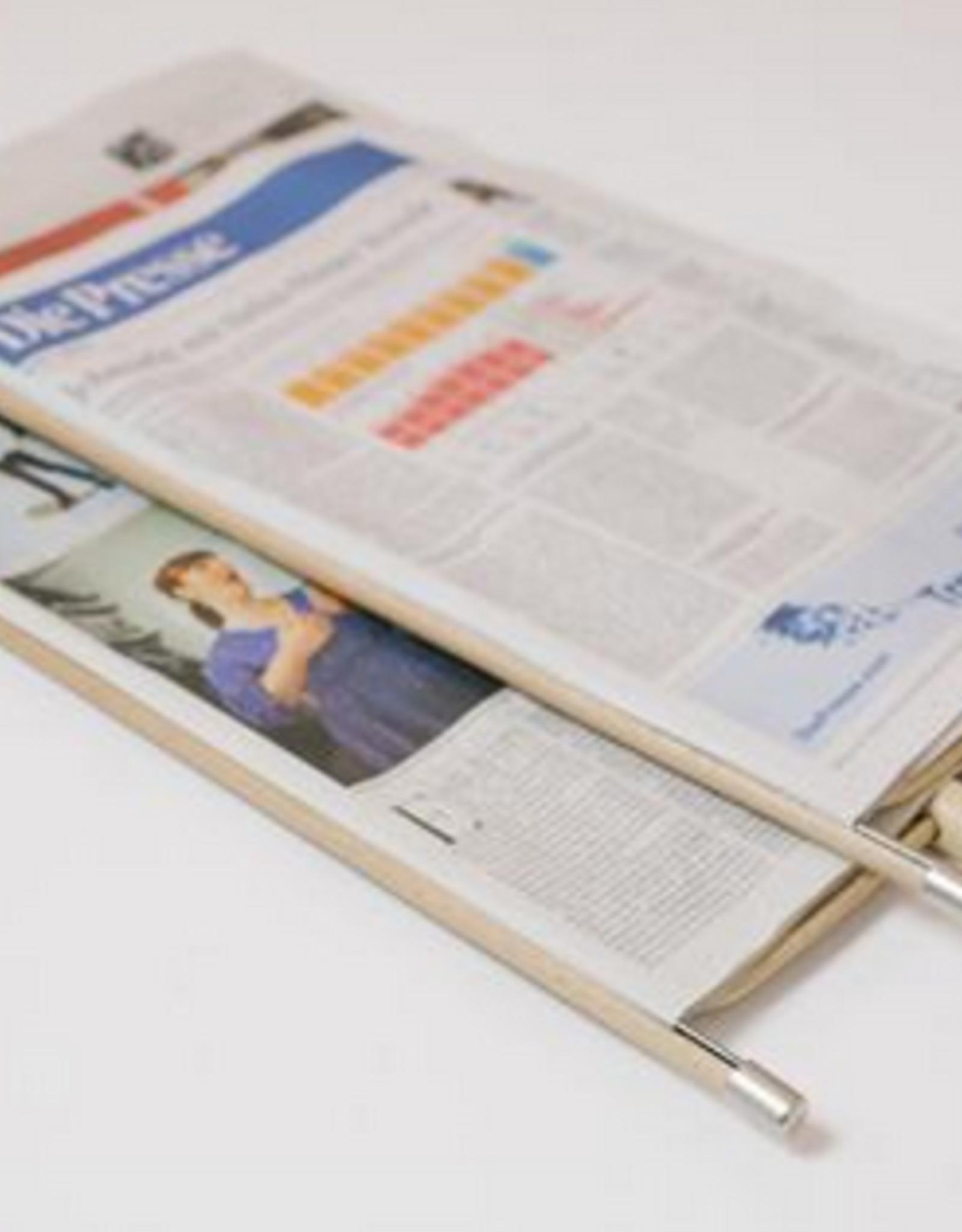 Wiener Newspaper holder natural 40cm