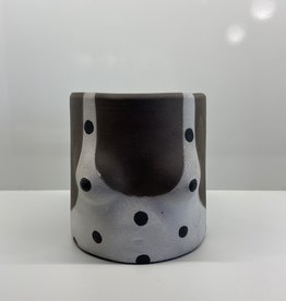 Group Partner Polka dot Nudie flower pot