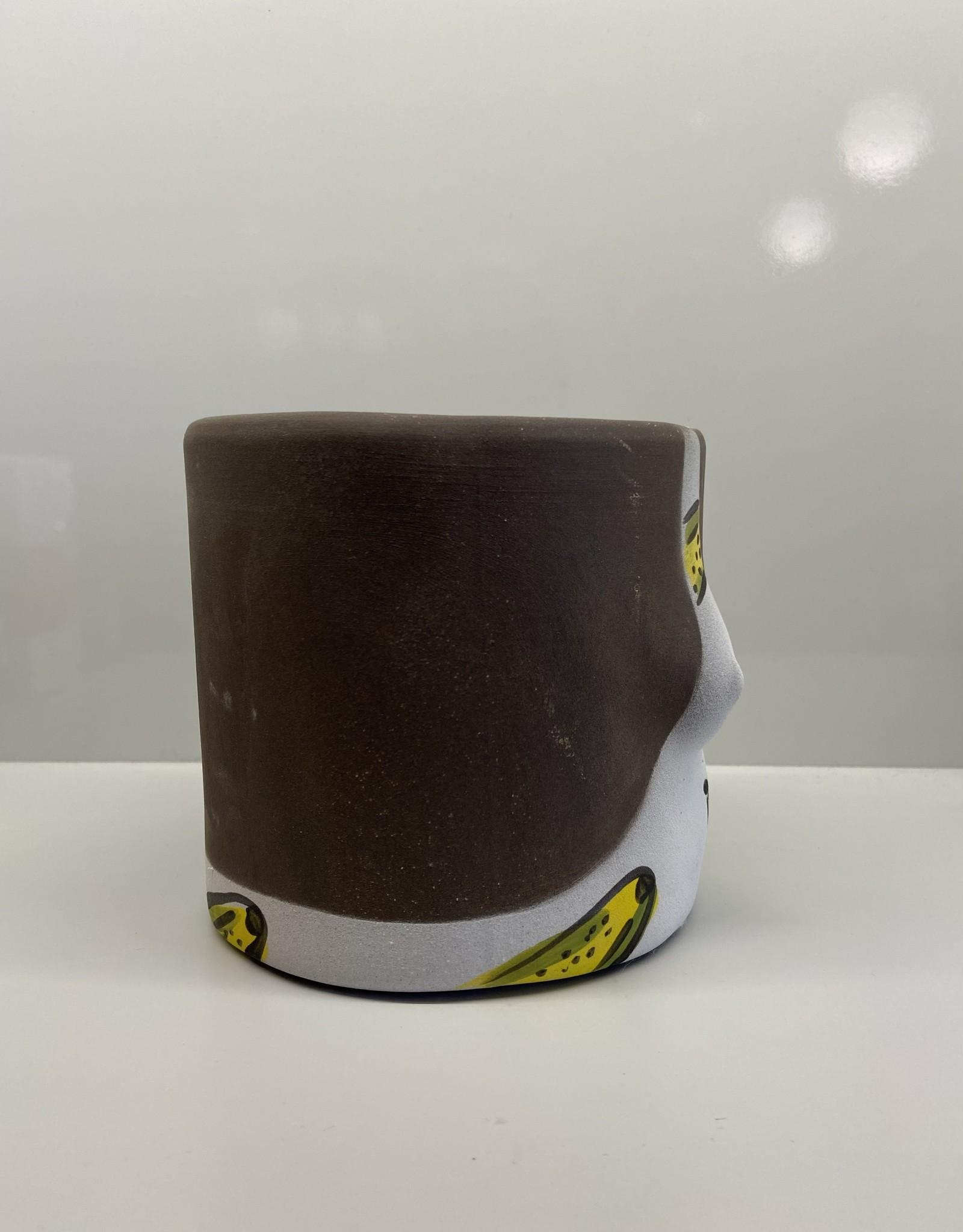 Group Partner Banana dark flower pot