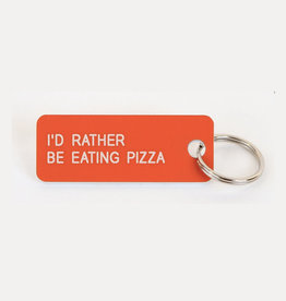 Various Keytags Keytag I'D Rather Be Eating Pizza