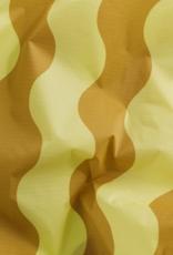 Baggu Reusable bag yellow and gold wavy stripe
