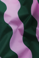 Baggu Baby reusable bag pink and green wavy stripe