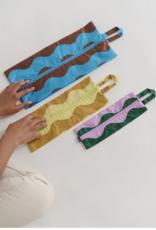 Baggu 3D Zip set wavy stripes