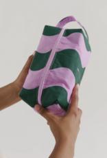 Baggu Dopp kit wavy stripe