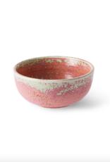 HK Living Home chef ceramics bowl rustic pink