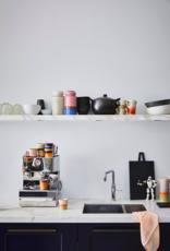 HK Living Ceramic 70's storage jar : reef