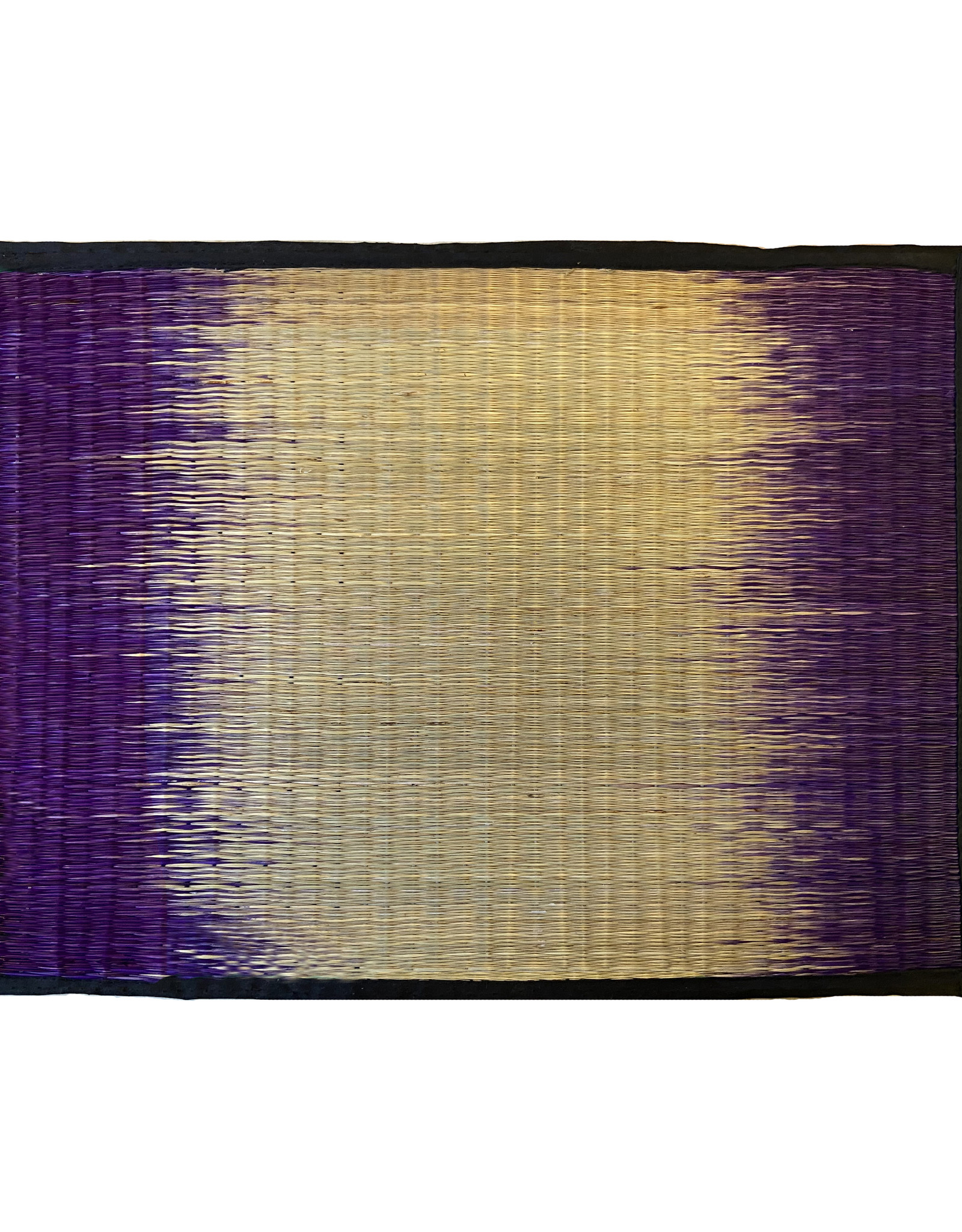 Sarany Shop Sarany shop ikat purple placemat