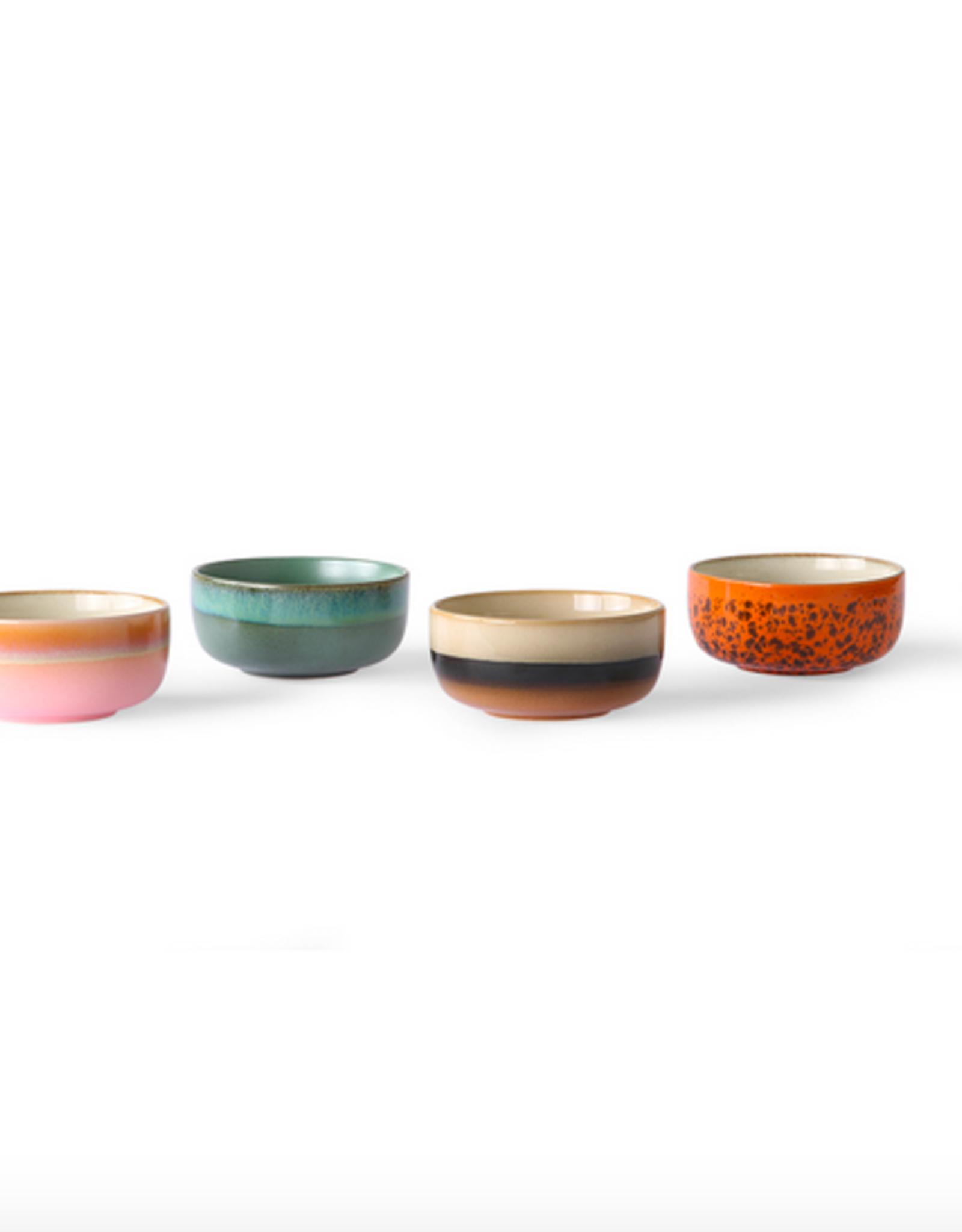 HK Living 70's dessert bowls (set of4)
