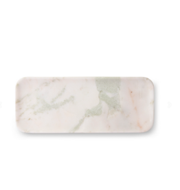 HK Living White green pink marble tray
