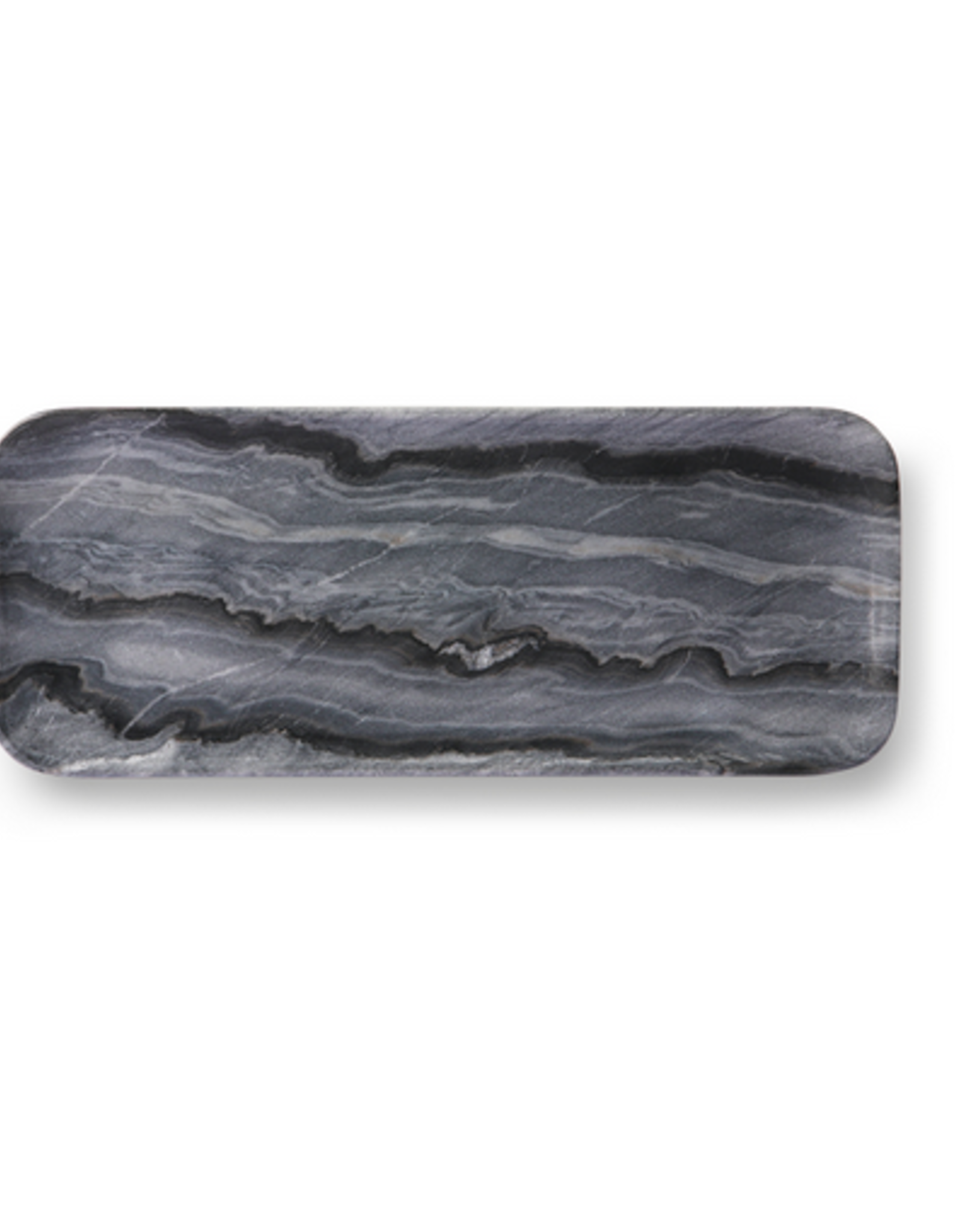HK Living Grey marble tray