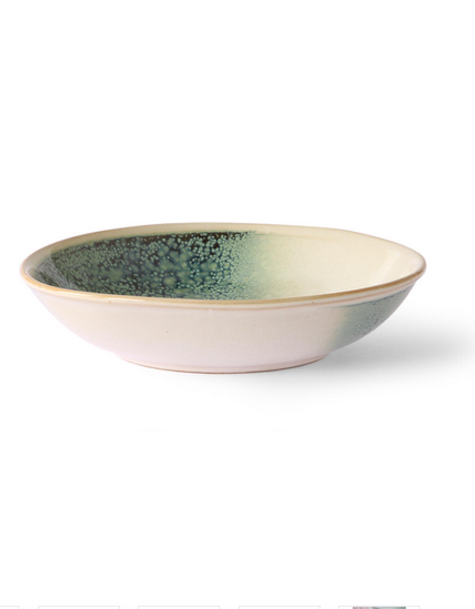 HK Living Ceramic 70's curry bowls mist (set of 2)