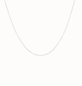 Flawed Dotted necklace silver