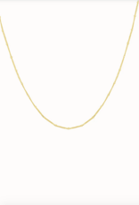 Flawed Dotted necklace gold