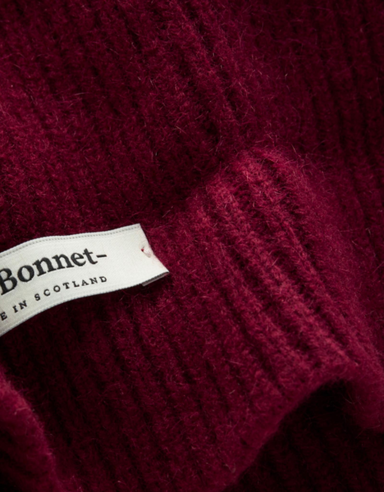 Le Bonnet Scarf wine