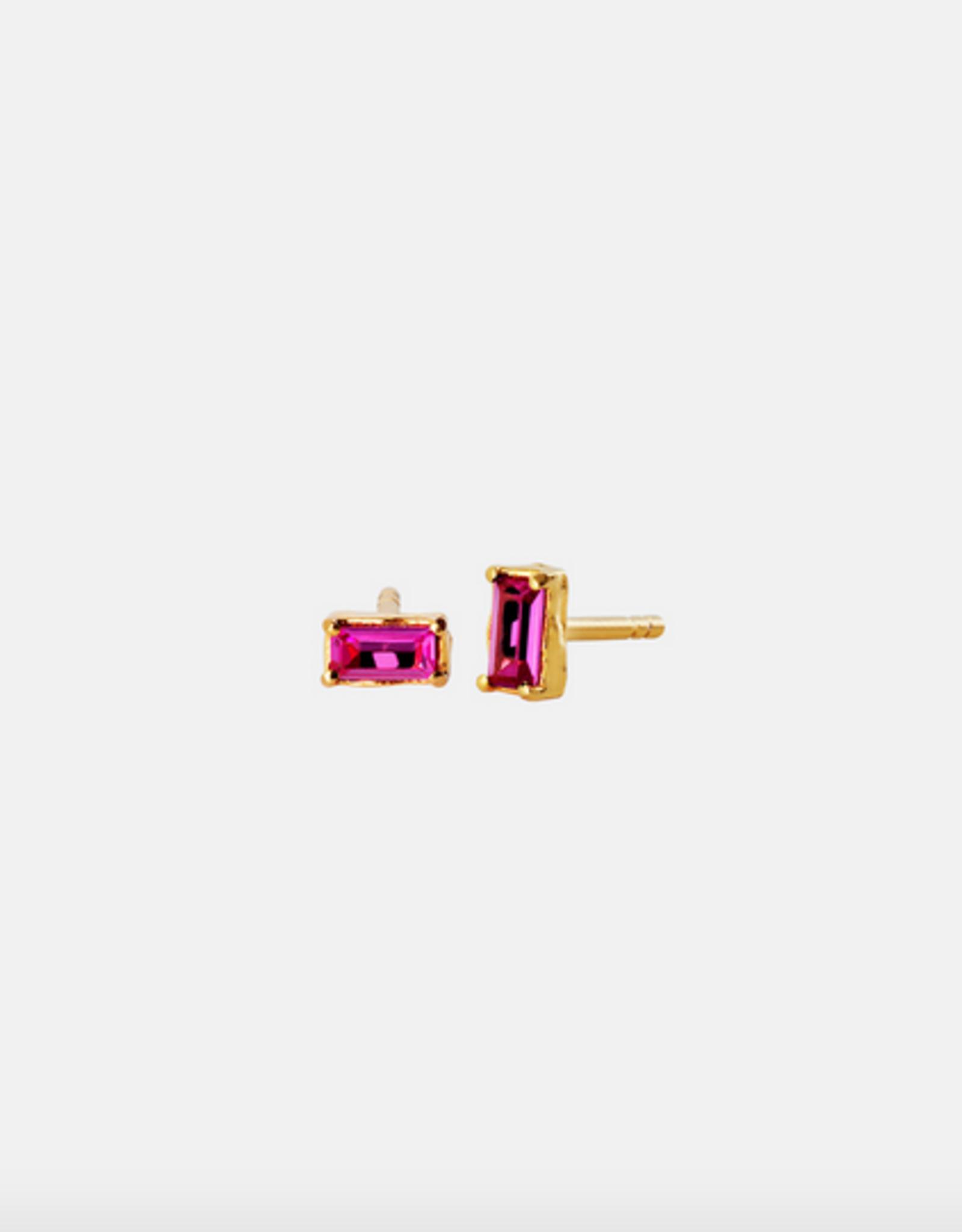 Maanesten Vanora light pink gold earrings