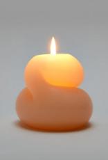 Areaware Goober candle pink