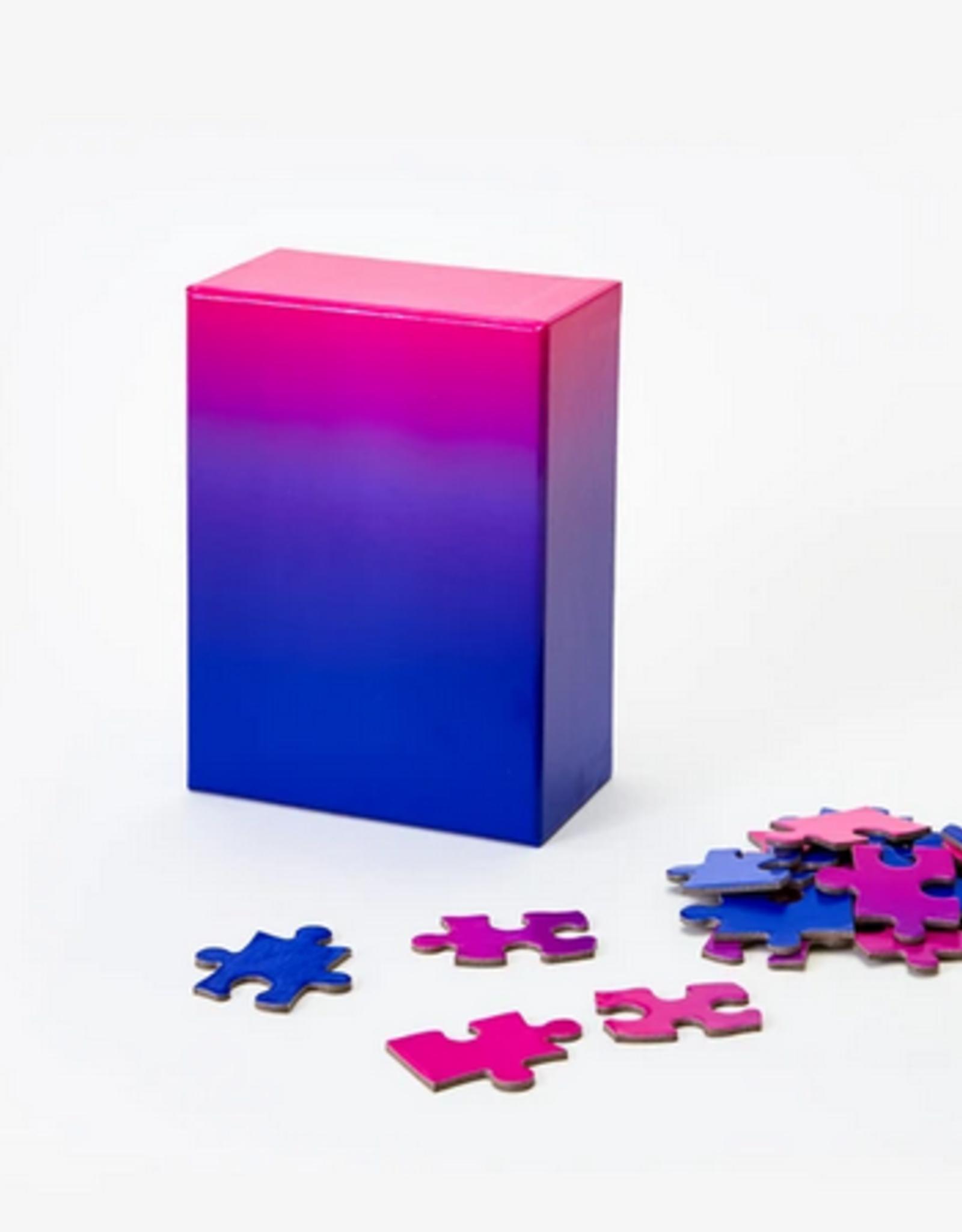 Areaware Gradient puzzle blue pink