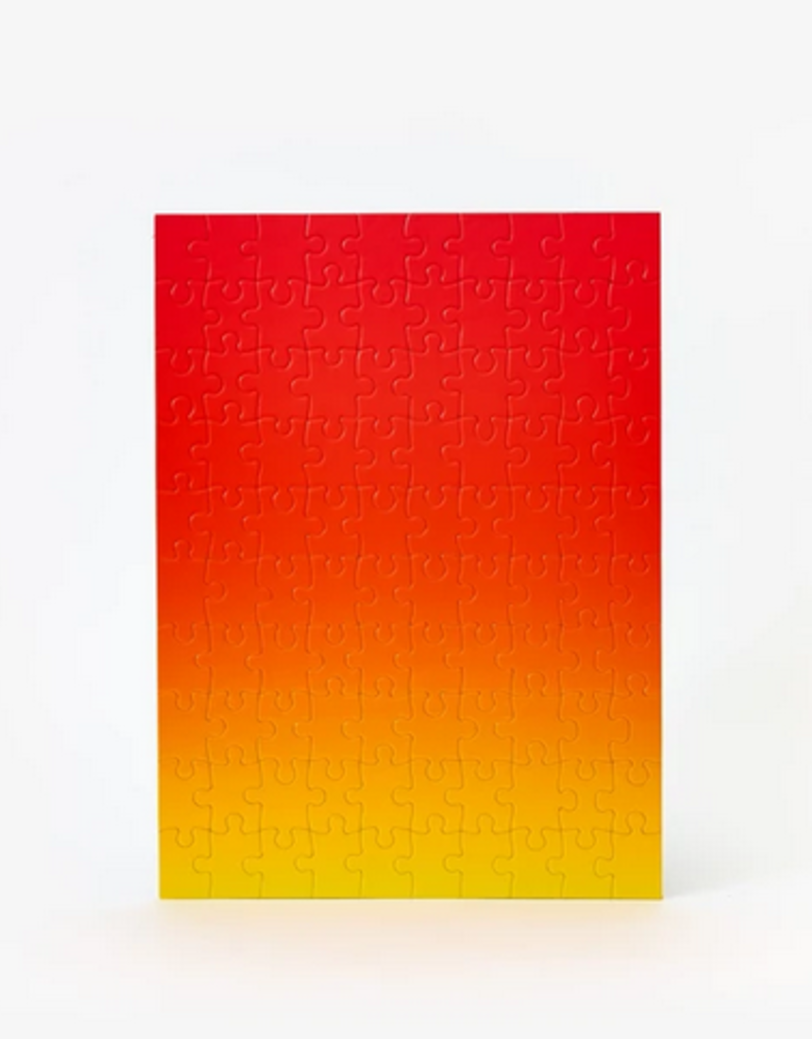 Areaware Gradient puzzle red yellow