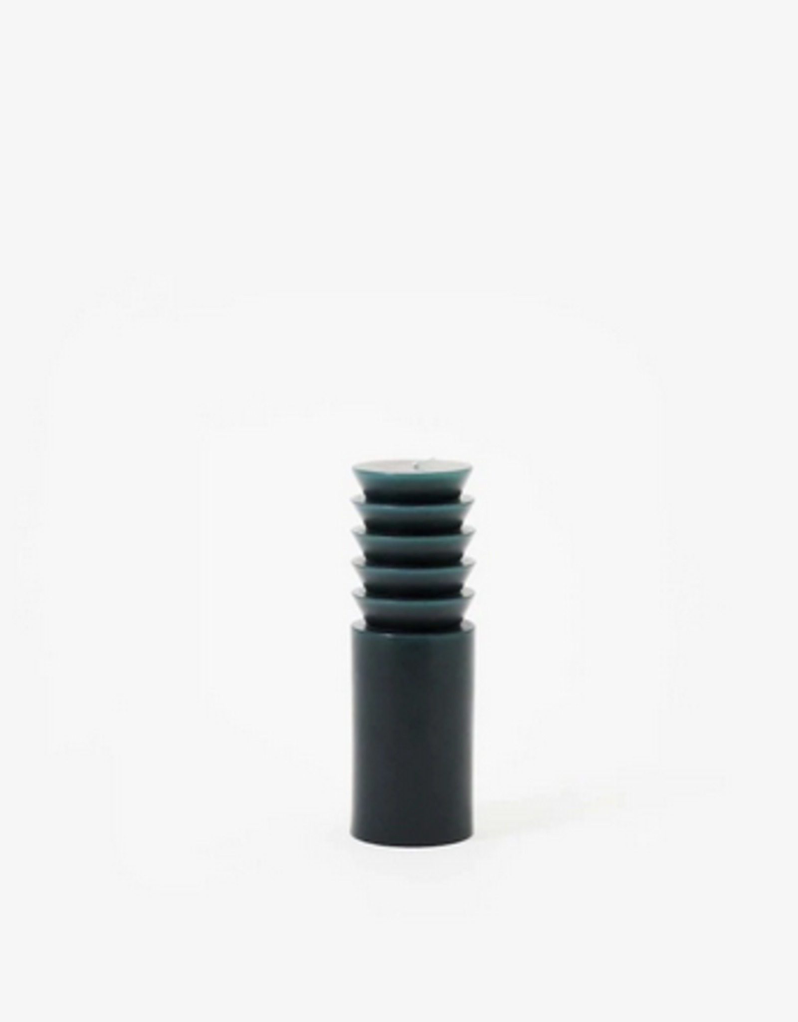 Areaware Totem candle medium step forest