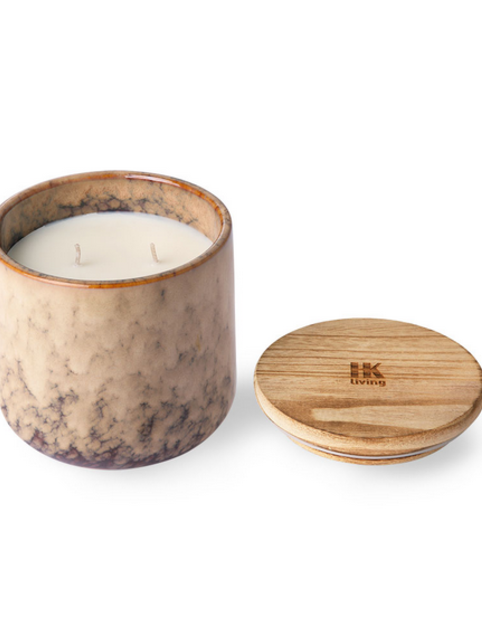 HK Living Ceramic scented candle casa fruits