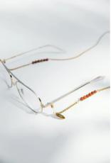 Coco Bonito Sunnycord chain with brown goldstone