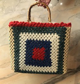 La Milanesa Crochet bag big E