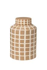 broste copenhagen Deco Jar Yellow
